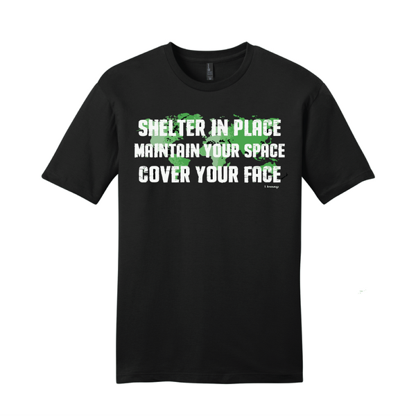 Shelter In Place Fundraiser Tee Pre-Order