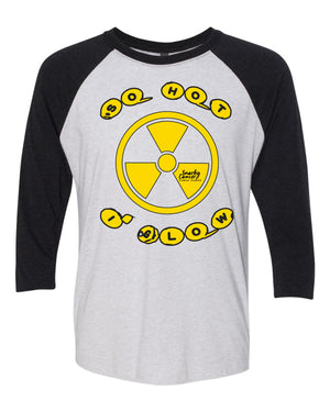 So Hot I Glow 3/4 Sleeve Raglan