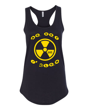 So Hot I Glow Racerback Tank