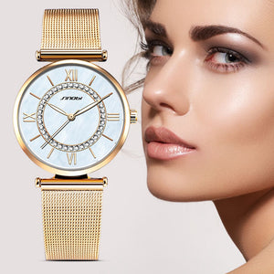 SINOBI Fashion Quartz Ladies Wristwatch
