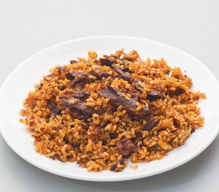 Tuna in Indonesian Fried Rice Sauce