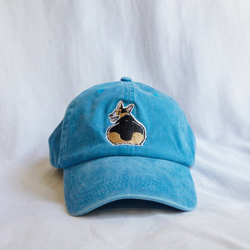 Blue Thicc Corgi Butt Hat