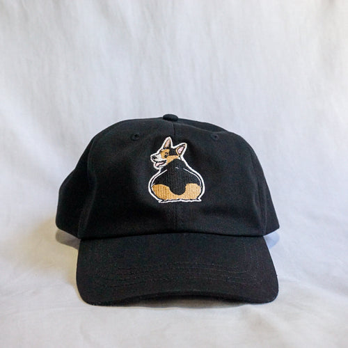 Black Thicc Corgi Butt Hat