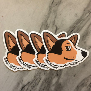 Pavlov Side Eye Sticker