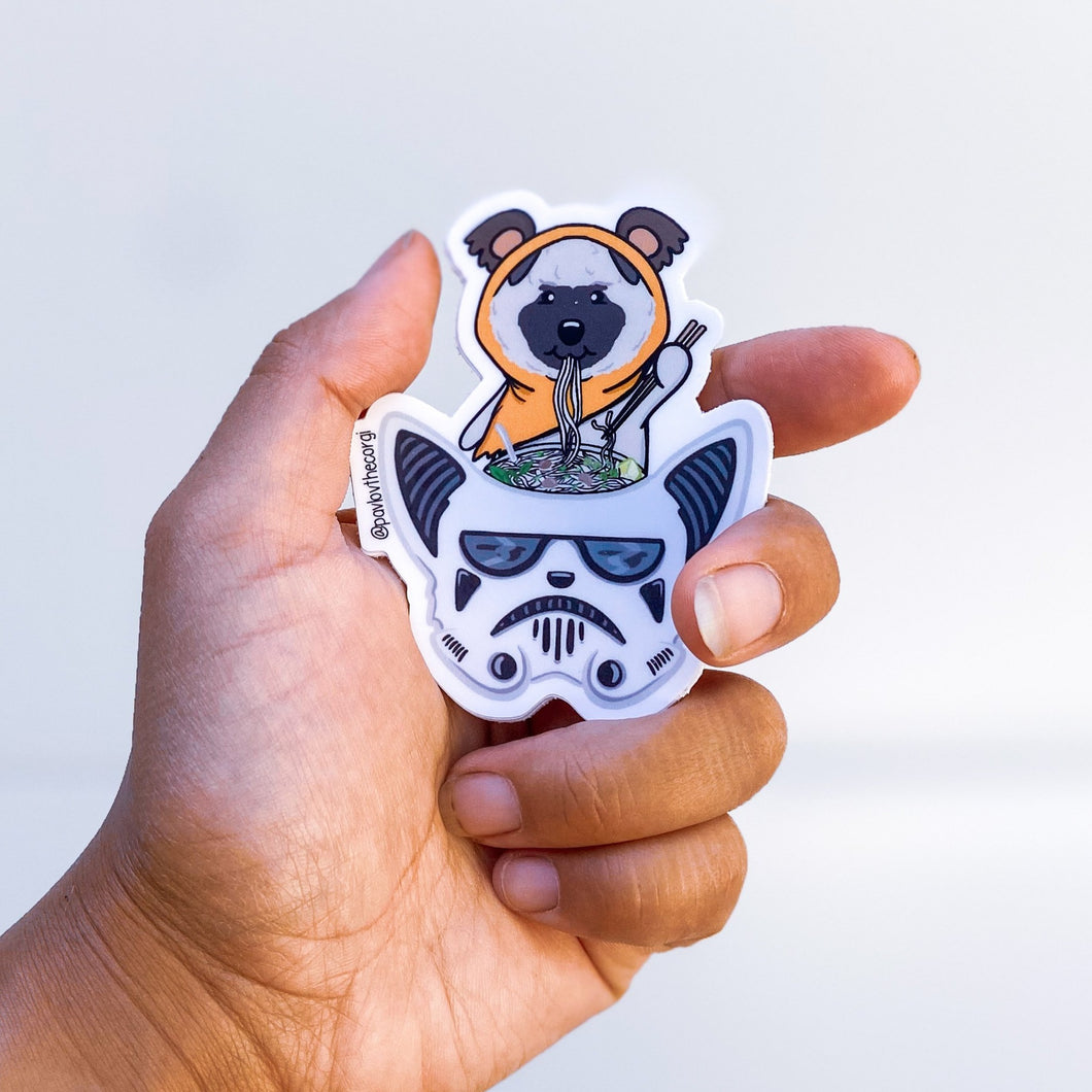"Limited Edition ""May the Phở Be With You"" Sticker"