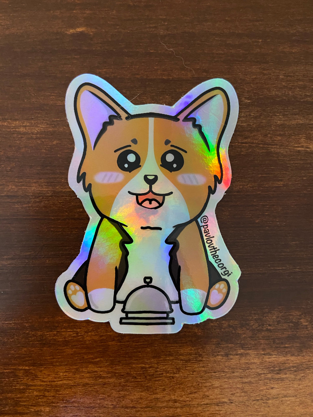 Holographic Pavlov's Dog Sticker