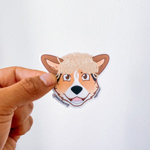 "Limited edition ""Spagooterhead"" Pavlov Charity Sticker"