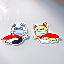 Be a Hero stickers (2 pack)