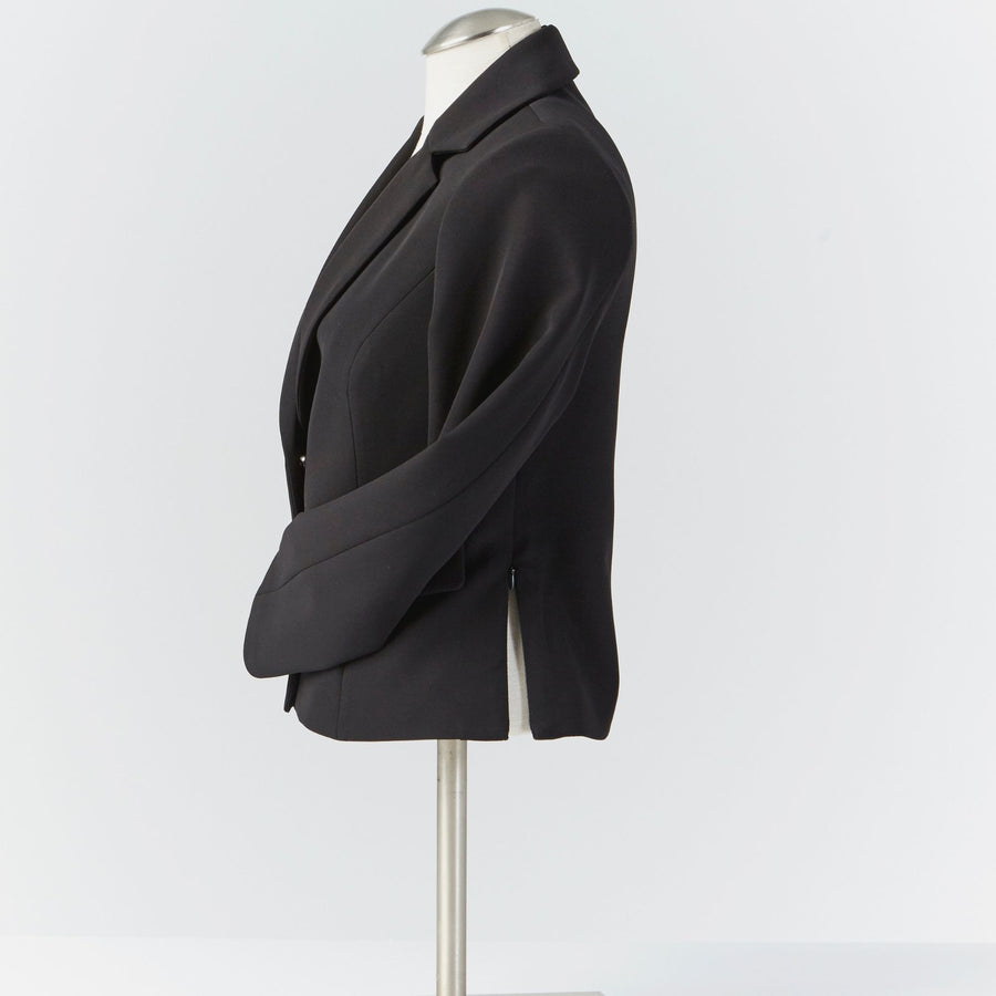 Camilleri Blazer with Side Zips and Magnetic Closures