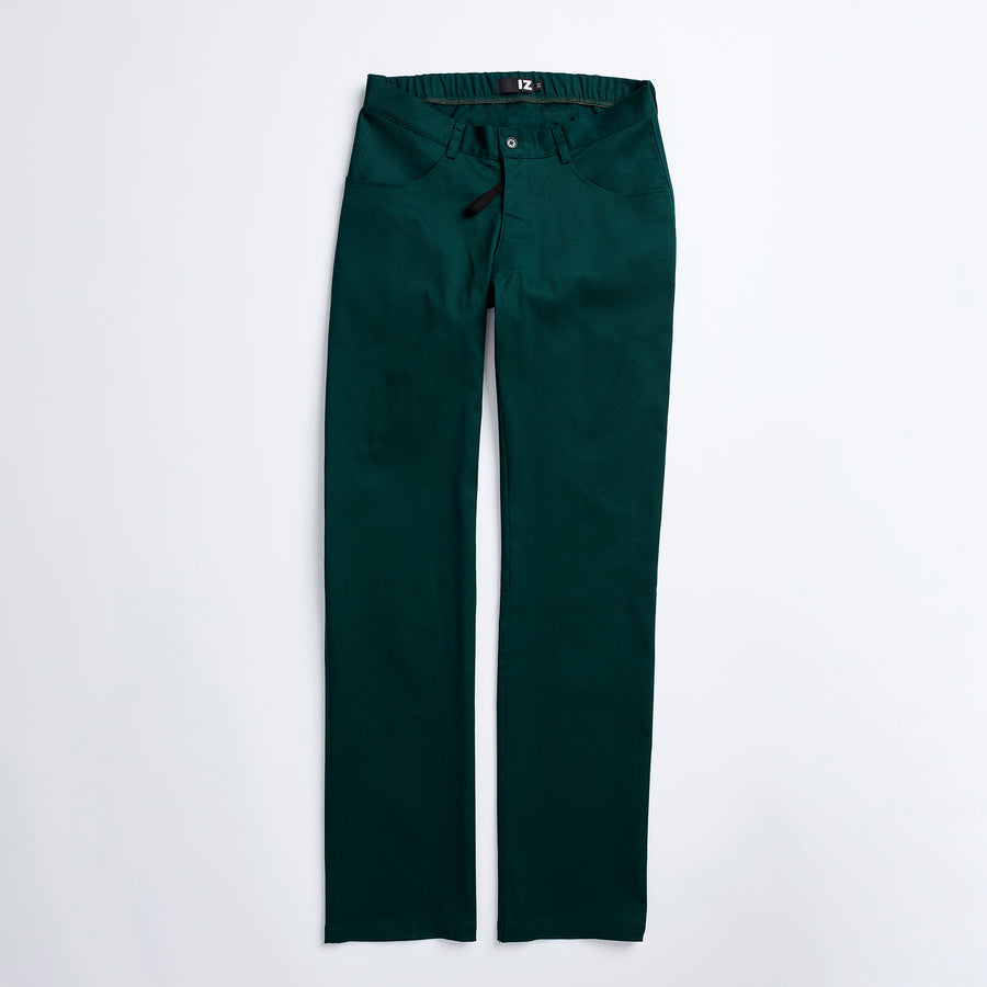 Hunter Green Seamless Back Chinos