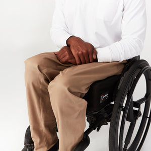 Seated Chino Elastic Waist - IZ Adaptive