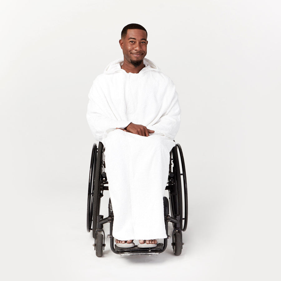 Classic Seated Bath Cape in 100% Premium Cotton