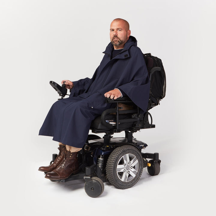Seated Rain Cape - IZ Adaptive