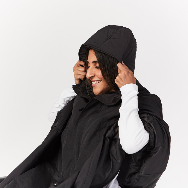 Seated Parka Cape