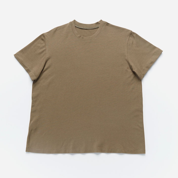 Junction Crew Neck T-Shirt in Olive - IZ Adaptive