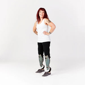 Seated and Standing Legging