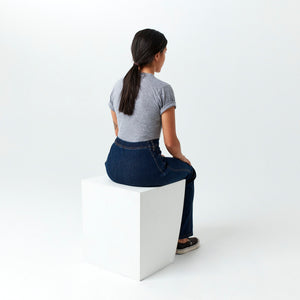 Game Changer Seamless Back Jeans for Women