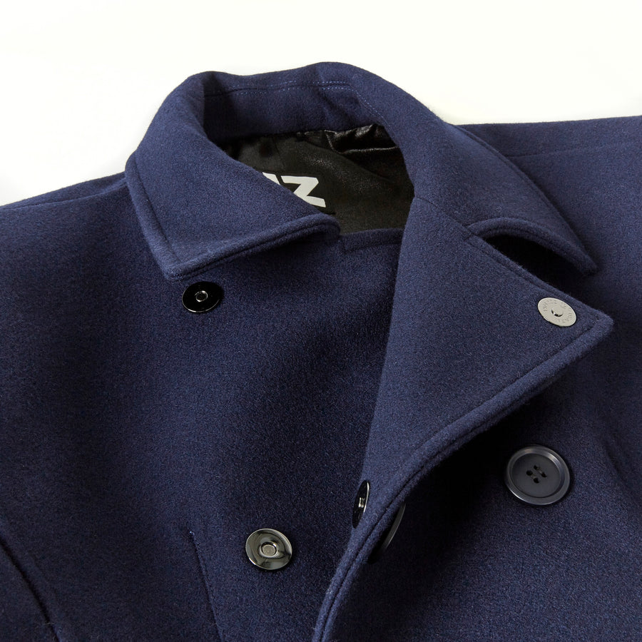 Seated Peacoat Magnetic Closure