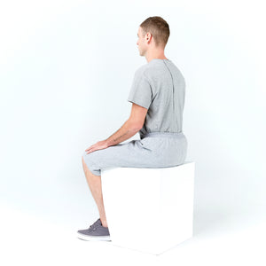 Seated Sweat Short Zippered Pocket