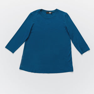 Dundas 3/4 Sleeve Crew Neck T-Shirt - IZ Adaptive