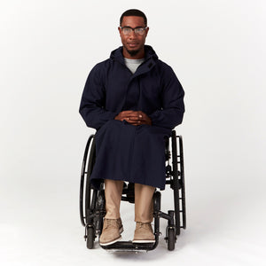 Seated Rain Coat - IZ Adaptive