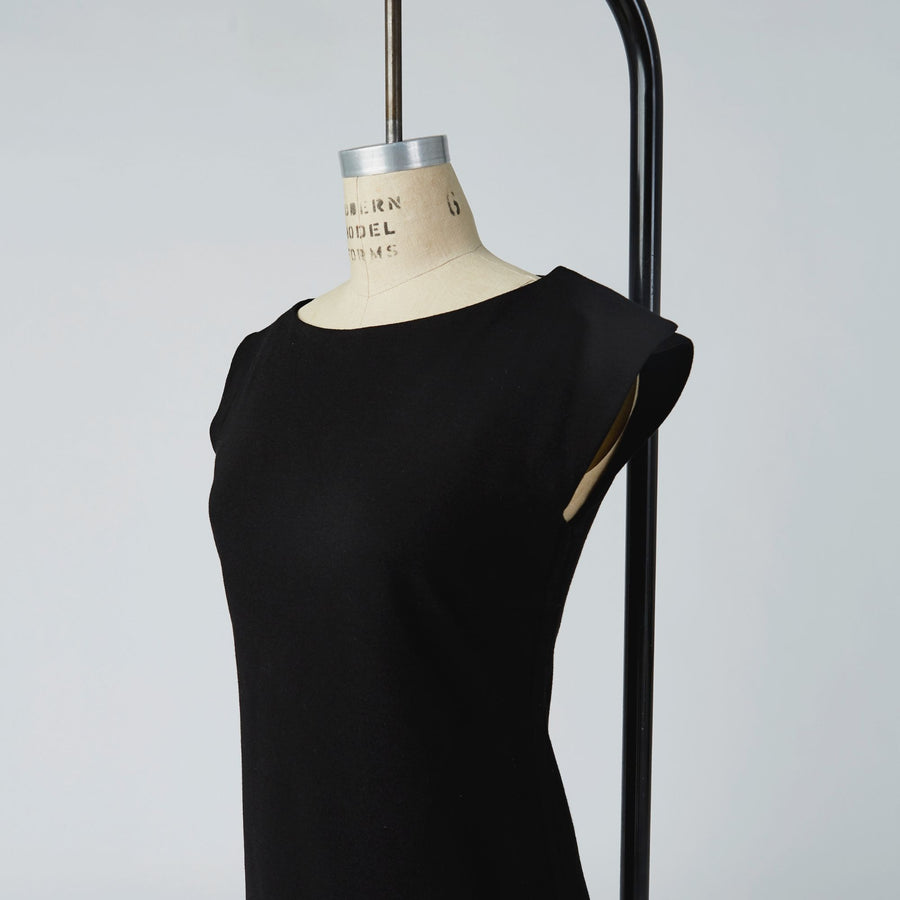Camilleri Boat Neck Dress with full side opening - IZ Adaptive