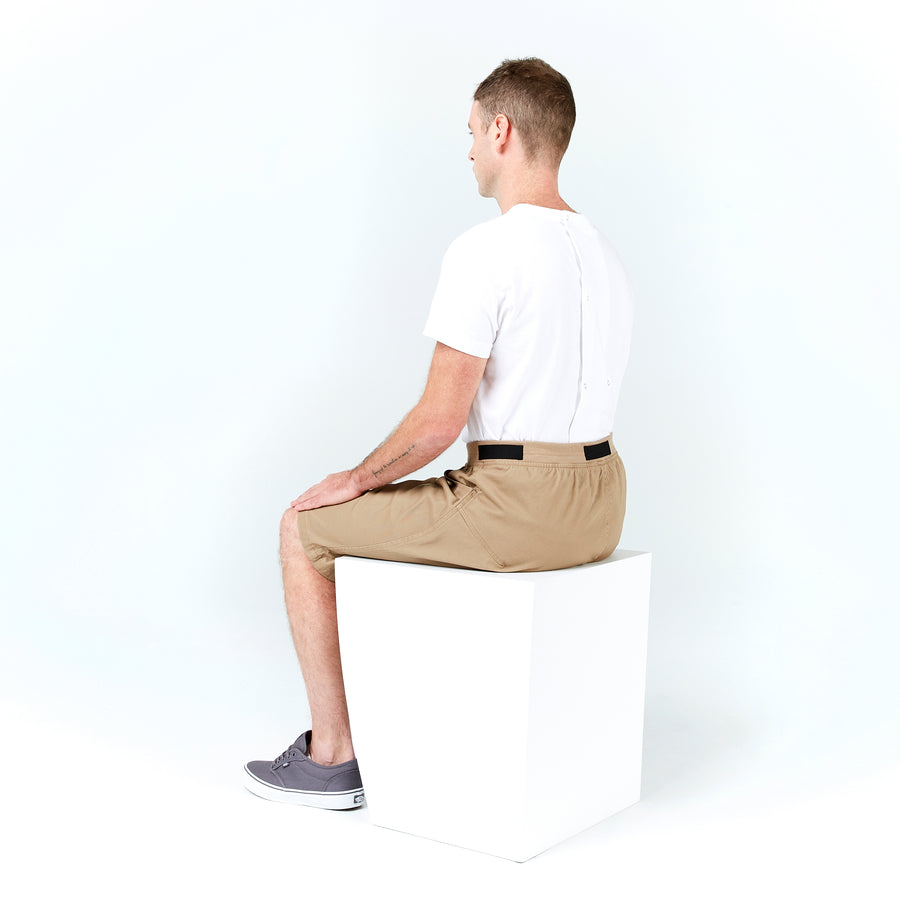 Seated Short Elastic Waist - IZ Adaptive