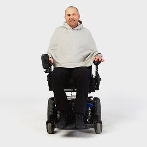 Wheelchair Hoodie Cape - IZ Adaptive