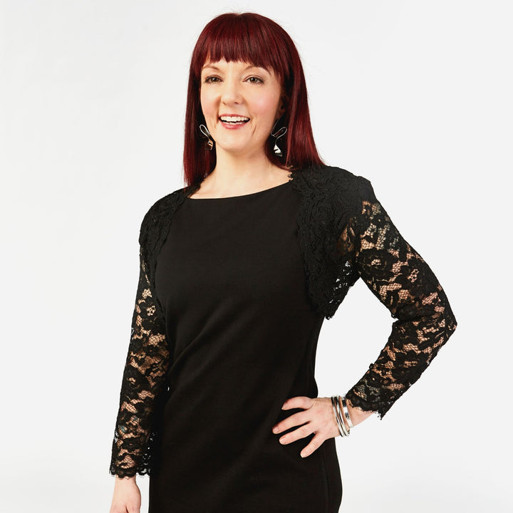 Black Lace Shrug - IZ Adaptive