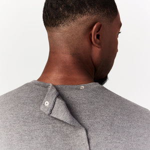 Long Sleeve Open Back Tee