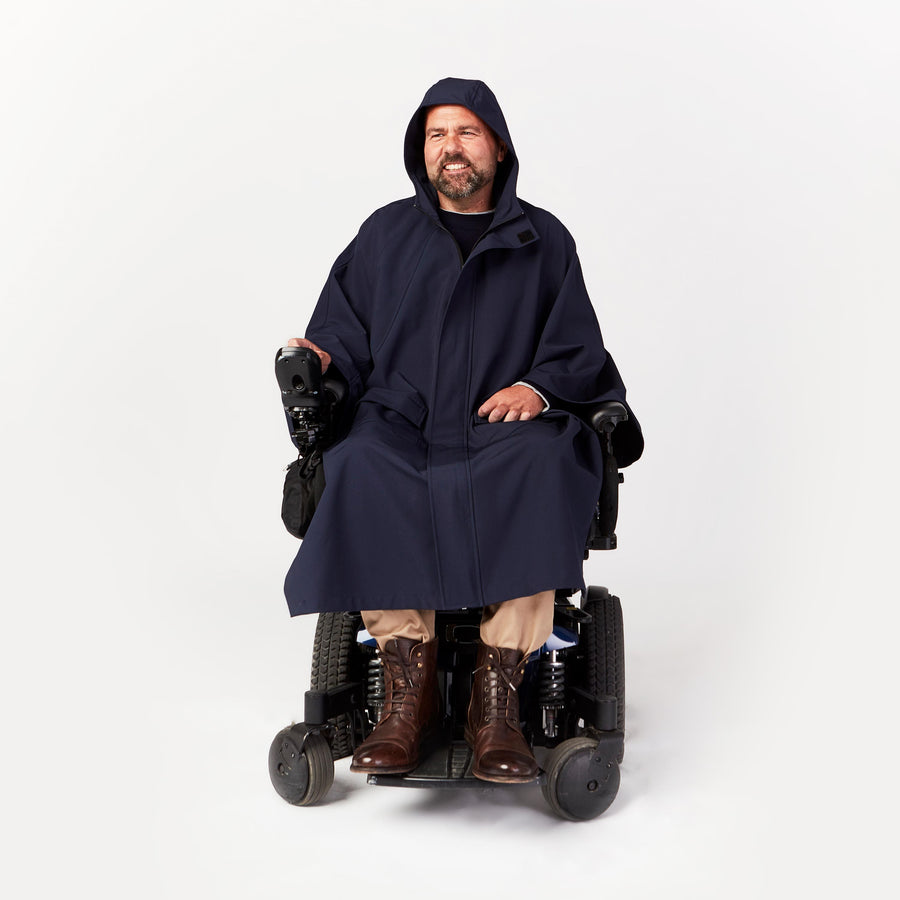 Seated Rain Cape