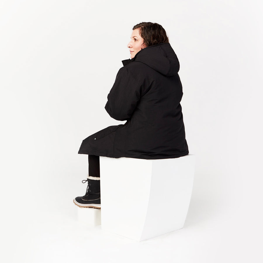 Seated Parka