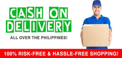 cash on delivery badge