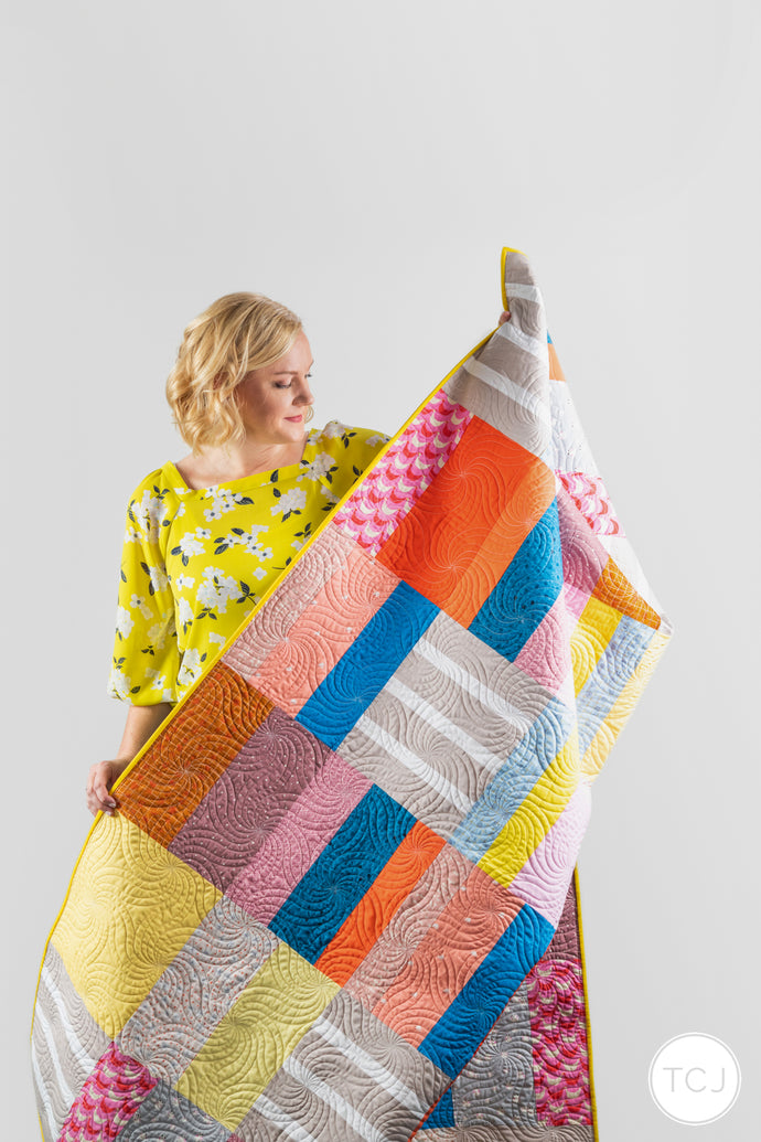 Bright Side Quilt - the Bluprint ones