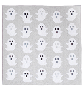 The Modern Holiday Quilt Collection - The Ghost Quilt