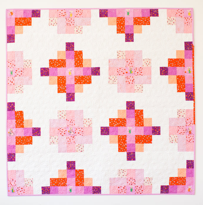 Granny Cabin Quilt - The Heather Ross One