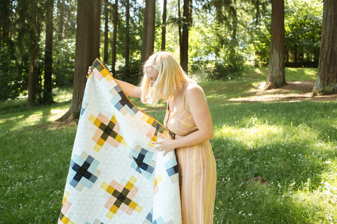 Granny Cabin Quilt - the Add It Up one