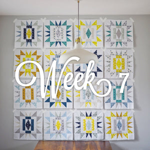 Sienna Burst Quilt Along - Week Seven