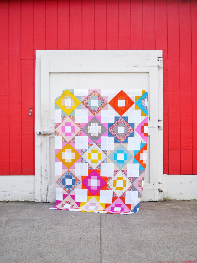 Meadowland Quilt - the Spring QAL one