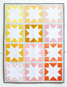 Inside Out Star Quilt - the Scrappy One and my summer burnout