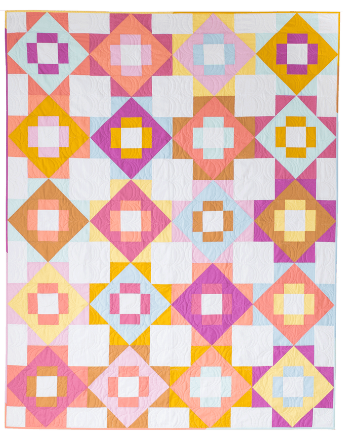 Meadowland Quilt Two - Kona Solids