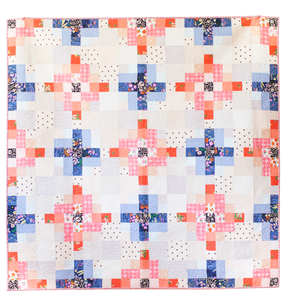 Granny Cabin Quilt - the Scrappy One