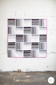 Blakely Quilt - The Black & White One