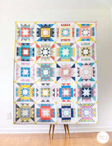Nova Star Quilt - The TCJ Basics One