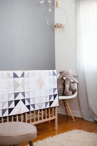 Diamond Ripples Quilt Pattern - Printed