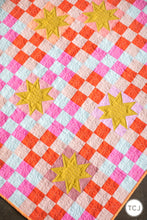 Campfire Glow Quilt Pattern - Printed