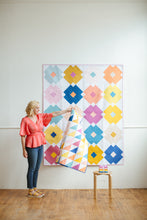 Flower Tile Quilt Pattern - Printed