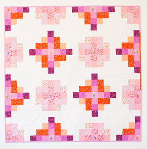 Granny Cabin Quilt Pattern - Printed