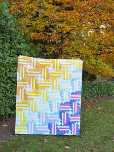 Run Wild Quilt Pattern - Printed
