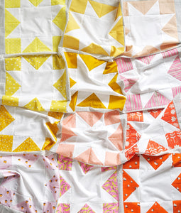 Inside Out Star Quilt Pattern - PDF